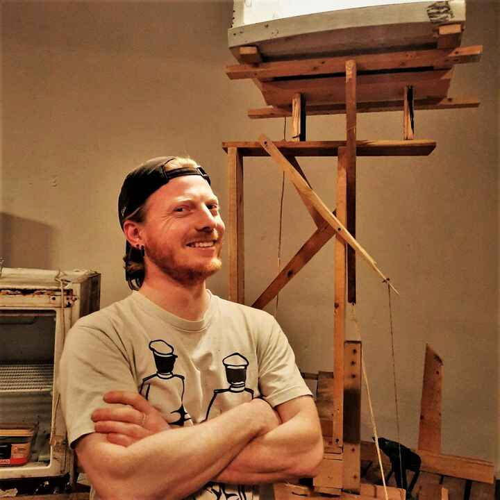 KARMANOIA presents the artists of the Meta Maze: Vince Donders 3/3He has found his way to Berlin - eventually! We are ve...
