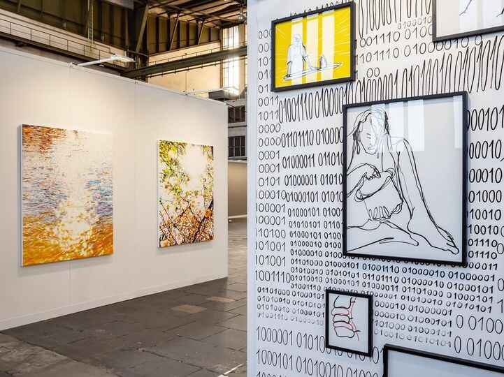 Visit us in booth F09  @positions.artfair!We look forward to meet you there - with brandnew works by @p_lottje and @patr...