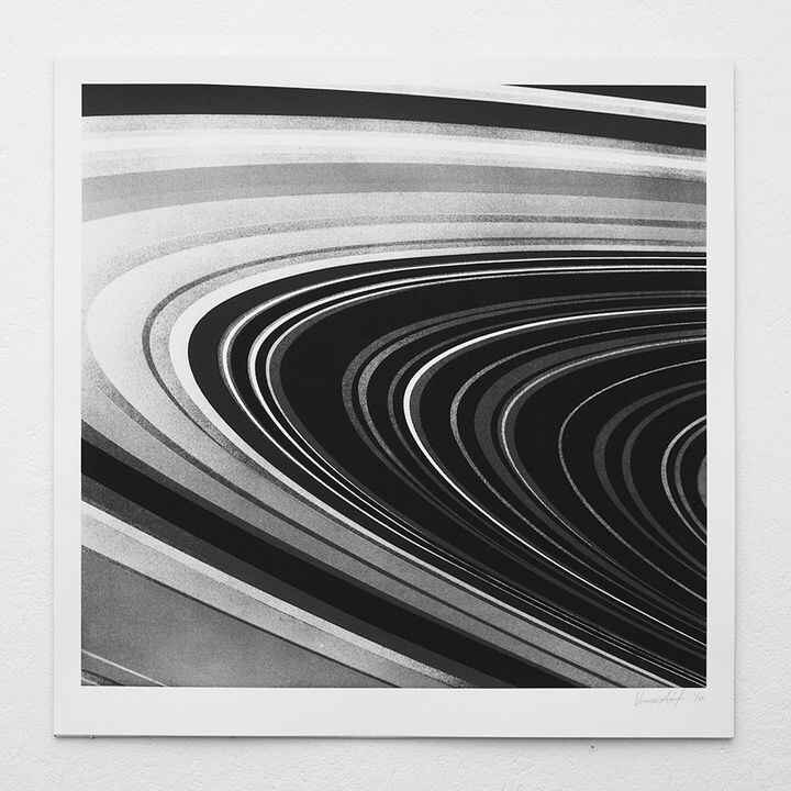 The Rings, by Victor Ash. New print works published today via our website. http://motherdrucker.de/screen-printing-berli...