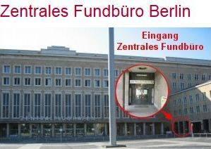 WICHTIG: Am Platz der Luftbrücke ist Berlins zentrales Fundbüro. Viele wissen das gar nicht mehr.