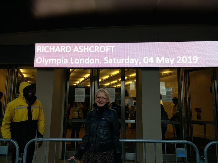 me, in London, this May 2019* Richard is my deep Inspiration for making my Art. and - yes, first time after so many Year...