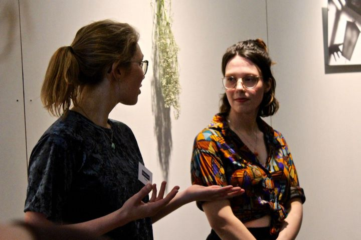 We had a very nice time last Tuesday at the opening of Curtains Wide Open by Ilse de Cock! The exhibition is on view unt...